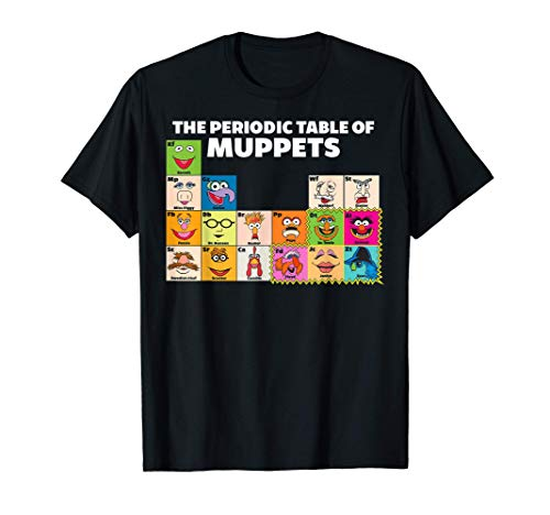 Disney The Muppets Periodic Table Of The Muppets T-Shirt