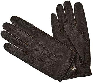 [DENTS【デンツ】]手袋/グローブ 15-1043 Bark Peccary&No lining(ブラウン ペッカリー)