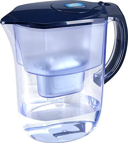 Ehm Ultra Premium Alkaline water Filter Pitcher - 3.8L, Activated Carbon Filter- BPA Free, Healthy, Clean, & Toxin-Free Mineralized Alkaline Water in Minutes- Up to 9.5 pH-2020 Model
