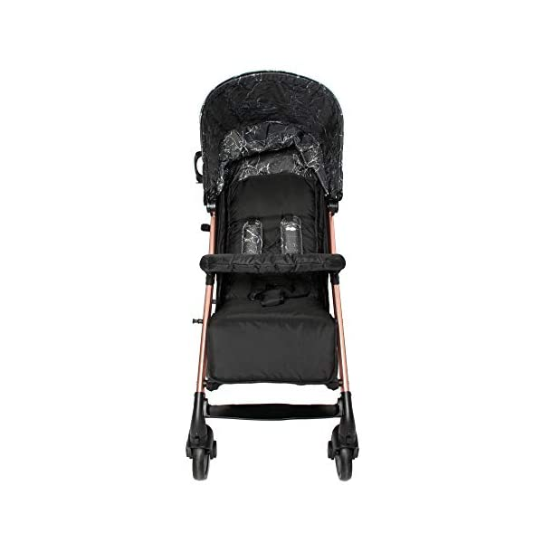 My Babiie Dreamiie by Samantha Faiers MB51 Black Marble Stroller My Babiie Suitable from birth to maximum 15kg Extendable 3 position canopy Lockable swivel front wheels 6