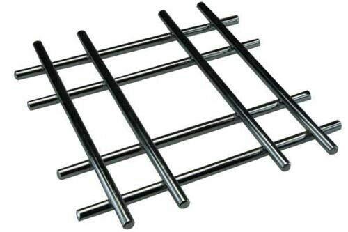 Vision4ever 20cm Chrome Trivet Heat Resistant Table Hot Pan Tea Pot...