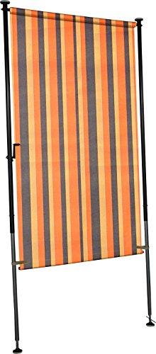 Angerer Balkon Sichtschutz Nr. 200 orange, 120 cm breit, 2316/200