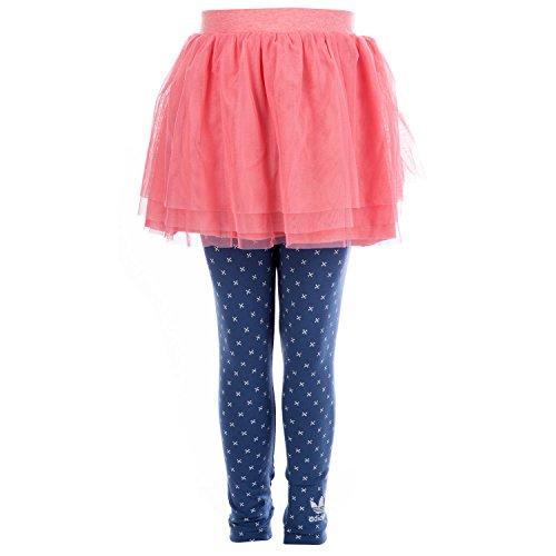 adidas Originals Baby Meisjes Legging en Rok Set in Roze/Blauw