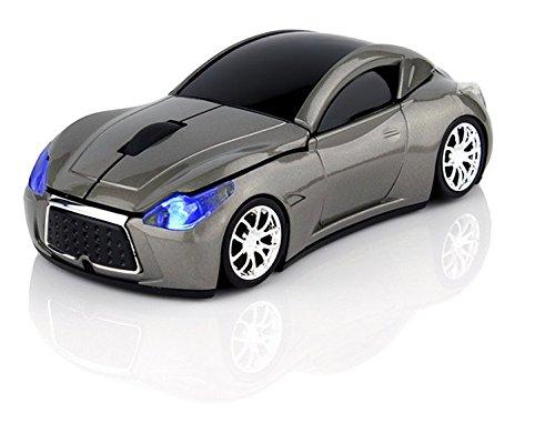 Klein Design FTD-MS127 Auto Style optische Maus/Mouse schnurlos/Wireless grau