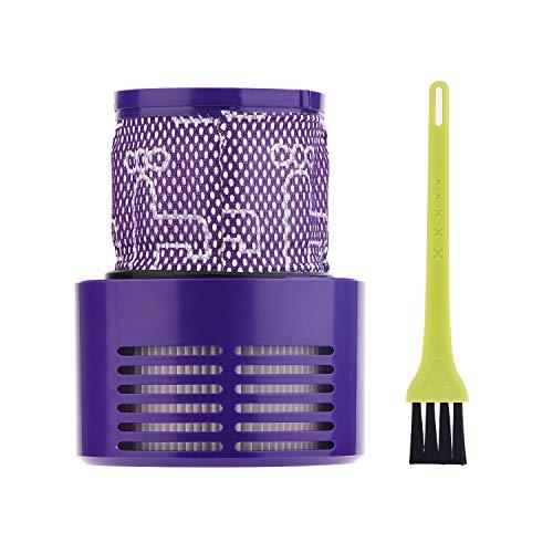 Jajadeal Filter für Dyson V10 SV12 Staubsauger, Waschbar Ersatzteil Filterzubehör für Dyson V10 Cyclone Absolute / Animal / Total Clean / Motorhead Akku Staubsauger, # DY-969082-01