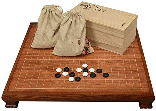 WZX Go Set, Mesa de ajedrez de Palisandro con Patas
