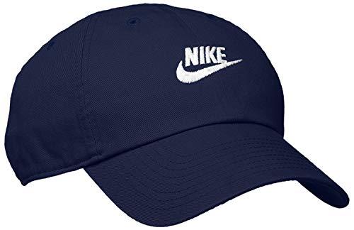 NIKE U NSW H86 Futura Wash Cap Hat, Unisex Adulto, Obsidian/Obsidian/White, MISC