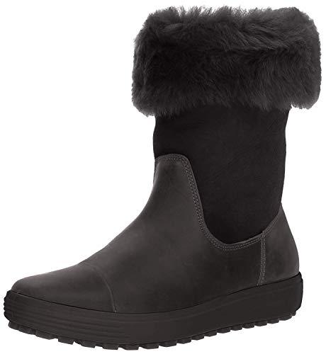 ECCO Damen Womens Soft 7 TRED Boot Hohe Stiefel, Schwarz (Black 51052), 41 EU