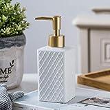 Abn Dispensadores de jabón líquido de cerámica Emulsión 250ml ~ 380ml Botellas Botellas de látex Accesorios de baño Set de baño, E