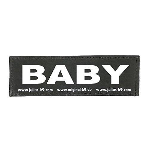 Julius K9 8151010 2 Klettsticker S. Baby