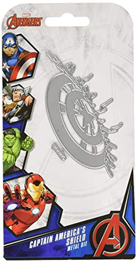 Character World Limited DUS0514 Captain America Die Set Silver