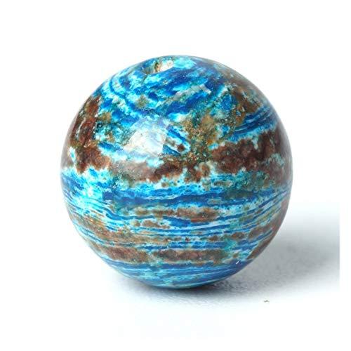 JINGGEGE Patrón de Piedras Preciosas Perlas Naturales ágata Azul Piedra Suelta Gema de talón 4/6/8/10 mm océano ágata Pulsera Oración Rosario (Size : 6mm 63pcs Beads)