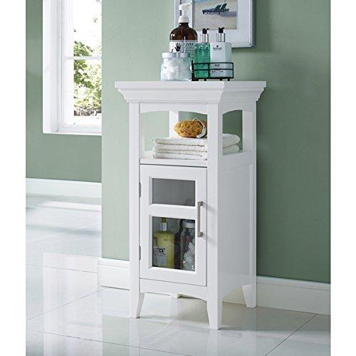 WYNDENHALL Hayes Floor Storage Cabinet in White