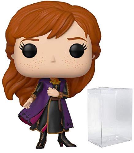 Pop Disney: Frozen 2 - Anna Pop! Vinyl Figure (Includes Compatible Pop Box Protector Case)