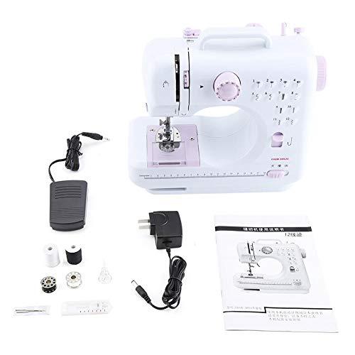 Valentine's Day PresentMáquina de coser profesional, máquina de coser automática, máquina de coser portátil, mini máquina de coser, 110 V-220 V para estudiantes de modista