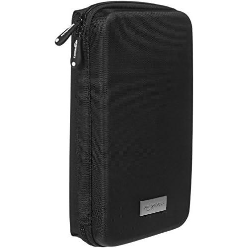 AmazonBasics - Custodia da viaggio universale per dispositivi elettronici e accessori (fotocamere, cellulari, GPS), colore: Nero