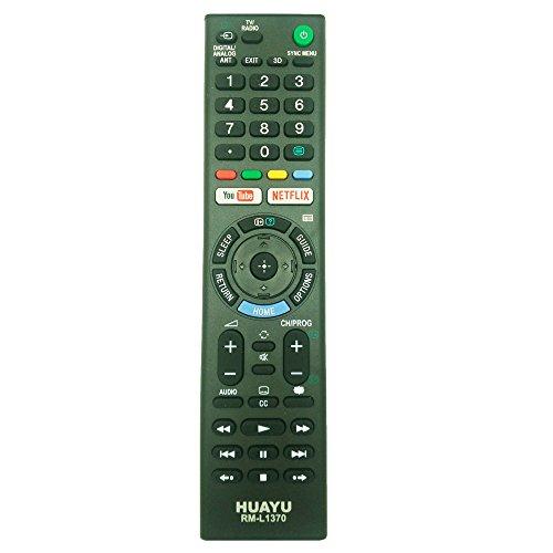 HUAYU - Mando a distancia para TV LED Sony Bravia con botones 3D de Youtube Netflix