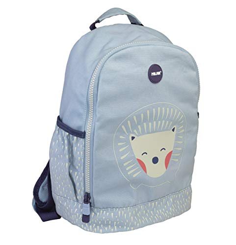 MILAN Mochila Escolar Pequeña Berrywood Azul Mochila infantil, 33 cm, Azul