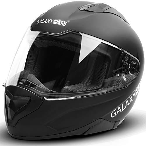 Galaxyman Motorcycle Street Bike Helmet Full Face Compact Lightweight for Men Women, DOT Approved...
