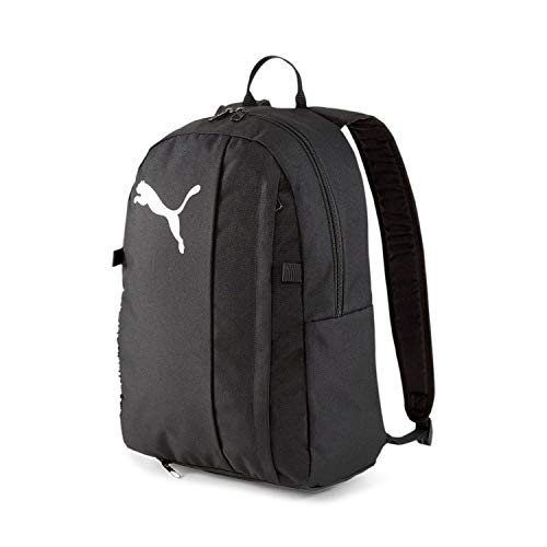 Puma teamGOAL 23 Backpack with Ball Rucksack, Black, OSFA