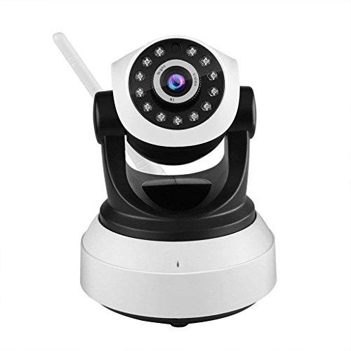 XHZNDZ Cámara IP, 1080P HD WiFi Vigilancia IP CAM Sistema de Seguridad Grabación de Video Reconocimiento Sonic P2P Pan Tilt Remote Motion Detectar Alerta con Soporte de Audio bidireccional