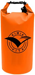 Kimia Vita Waterproof 10L Dry Bag - Perfect for Holding: Phone - Camera - Valuables - Great for Any Water Excursion: Boating - Kayaking - Paddleboarding - Beach
