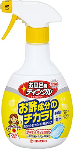 お風呂用ティンクル浴室・浴槽洗剤水垢落としスプレー400mL