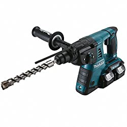 Makita cordless rotary hammer (for SDS-PLUS, 2 x 18 V, without battery, without charger) DHR263Z