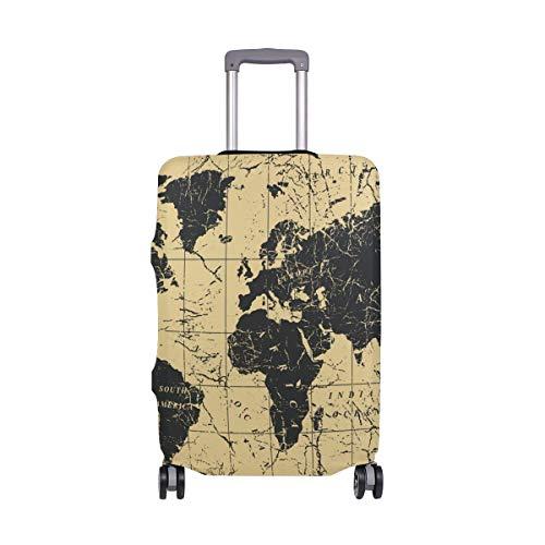 Funda Protectora para Maleta de Viaje con diseño de Mapa náutico Vintage, para...