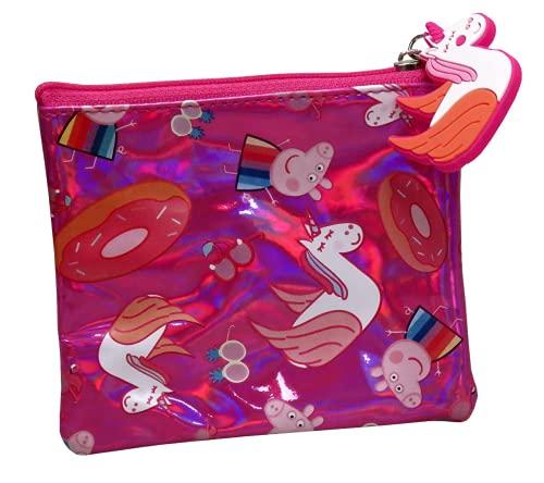 Peppa Pig Porte-monnaie unisexe pour enfants, multicolore unique