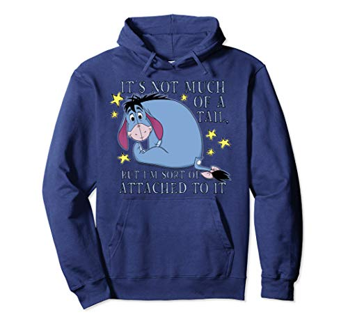 Disney Winnie The Pooh Eeyore Not Much Of A Tail Pullover Hoodie