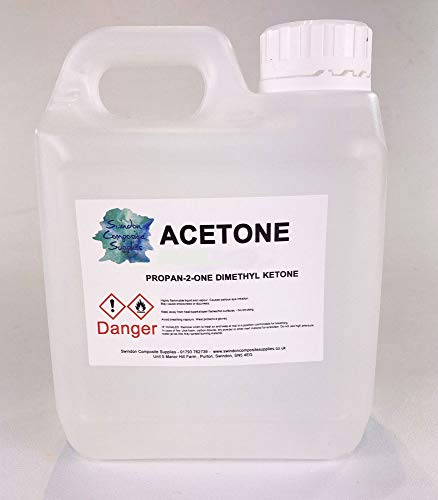 Acetone Pure High Quality,Nail Varnish Remover - 1Litre