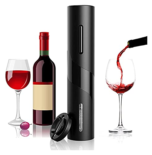 Conjunto de abrigos de botellas de vino eléctrico, conjunto de regalo de vino Sacacorchos eléctricos con cortador de lámina, abrelatas de botella de vino para amigos y hogar de cocina de cocina Uso