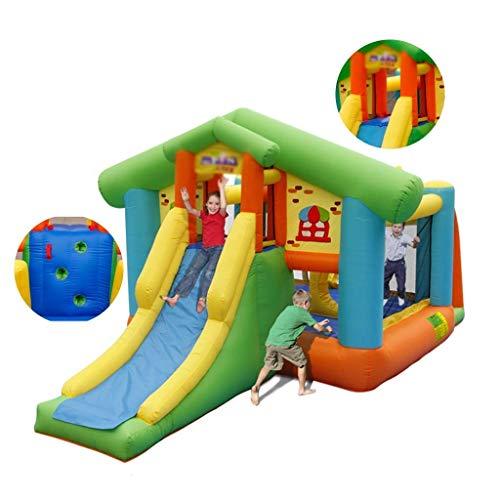 BSJZ Castillo Inflable Hinchable, Accesorios para Equipos de Juegos, Equipo de Juegos para niños, trampolín para bebés y niños Adecuado