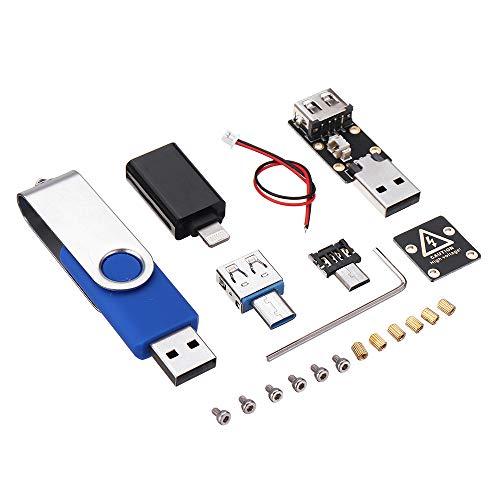 Generador de impulsos de alta tensión en miniatura Killer USB Disk Killer V5.0 U con accesorios