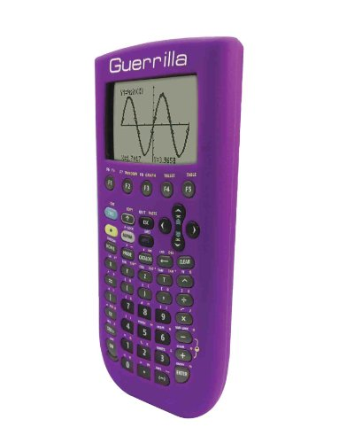 Guerrilla Silicone Case for Texas Instruments TI-89 Titanium Graphing Calculator, Purple Photo #3