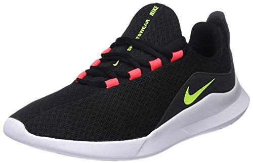 Nike Viale, Scarpe Running Uomo, Multicolore (Black/Volt/Solar Red/Anthracite 001), 42 EU