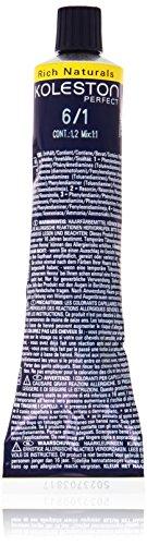 Wella Professionals Koleston Perfect Permanente CremeHaarfarbe, 6/ 1 dunkel Blond asch, 1er Pack (1 x 60 ml)