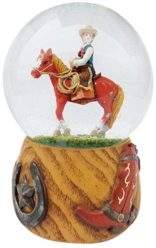 Spieluhrenwelt 14216 Boule à Neige Cowboy