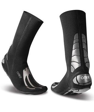 OMER 3mm Spider Socks Reinforced Neoprene Spearfishing Booties (Sock Size 3 (Shoe Size 7-8))