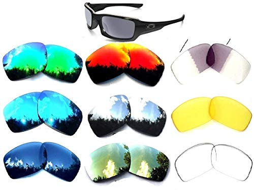 Lentes de repuesto Galaxy para gafas de sol de Oakley Fives Squared Multi-Selección, combinación de 9 colores
