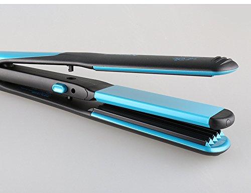 Preisvergleich Produktbild Shuangklei Haarglätter Professional 2In1 Ionen Glätteisen & Lockenstab Styling Tool Lockenstab