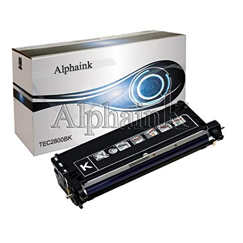 Toner Alphaink compatibile con Epson C2800-BK,Toner nero compatibile per stampanti Epson C2800 (Nero)