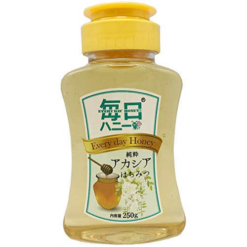 純粋アカシアはちみつ アカシア 蜂蜜 (250gx5本) ハチミツ 100%純粋 アカシアハニー無添加