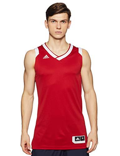 adidas Crzy Explo Jers Camiseta de Tenis de Baloncesto, Hombre, Rojo (Rojpot/Blanco), M