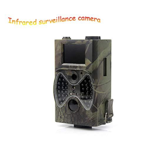 Zoiseo 2''LCD Action Camera, 34 Infrarood Lampen, Nachtzicht Is Zeer Goed, Infrarood Sensing Gevoeligheid, On-Site Inspectie Automatische Fotografie