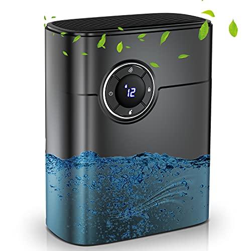 除湿機 小型 除湿器 コンパクト 静音 1.2L大容量 ペルチェ式 除湿 湿気対策 空気清浄 マイナスイオン 消臭 タイマー機能付 結露 梅雨対策 部屋干し 室内干し おしゃれ カビ対策 省エネ クローゼット トイレ 洗面所 等におすすめ