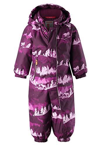Reima Puhuri Winter Overall Kleinkind deep Purple Kindergröße 92 2019