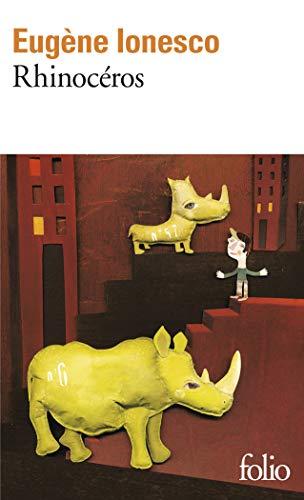 Rhinocéros: Pièce en trois actes et quatre tableaux: A36816 (Folio) 🔥