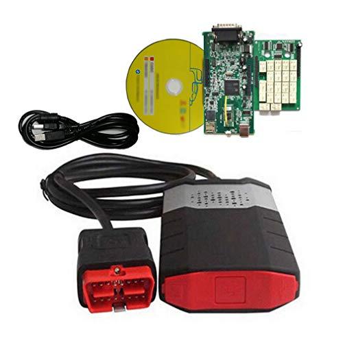 hanyaqi Tool Zur Diagnose Von Fahrzeugfehlern, Kostenloses Bluetooth Für Das Automatische Dialogdiagnosetool Delphi Obd2, Zweischichtiges Motherboard DS150E CDP PRO + 2016R0,10pac